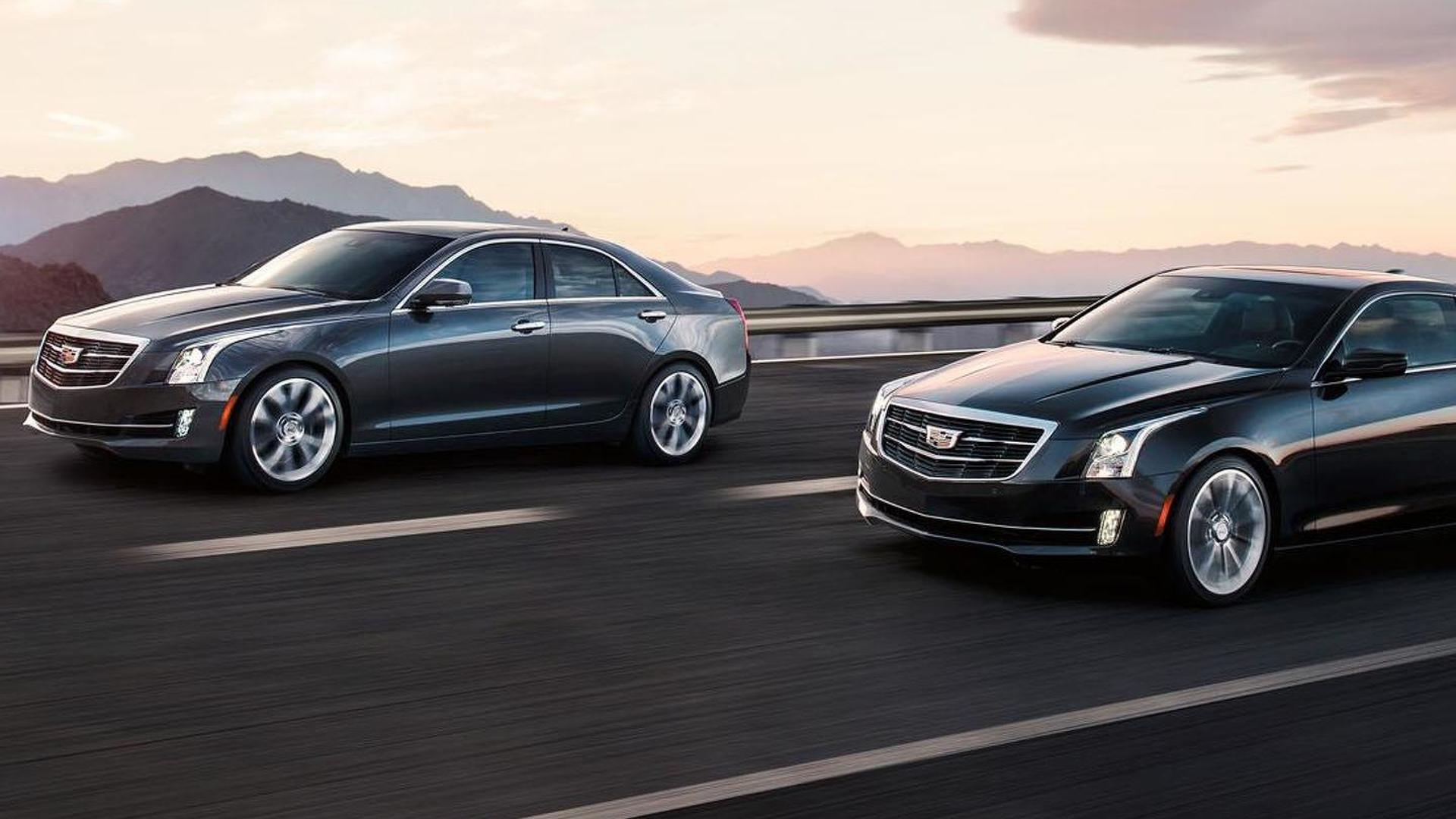 2015 Cadillac ATS sedan officially unveiled with the wreathless crest