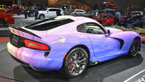 One-off Dodge Viper GTC arrives in Chicago with special paint