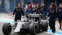 Pastor Maldonado (VEN) Lotus F1 E23. 02.02.2015, Formula One Testing, Day Two, Jerez, Spain / XPB