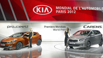 2013 Kia Pro_cee'd unveiled in Paris
