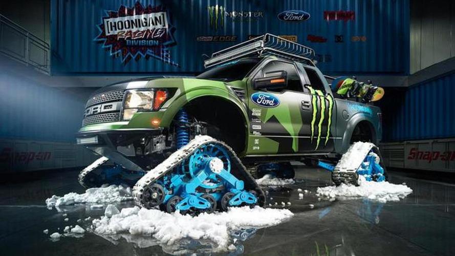 Ford F-150 RaptorTRAX is Ken Block's ultimate toy