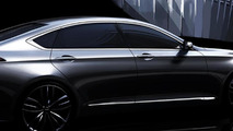2014 Hyundai Genesis official render 24.10.2013