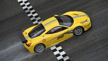 Ferrari 458 Challenge Evoluzione revealed with aerodynamic styling tweaks