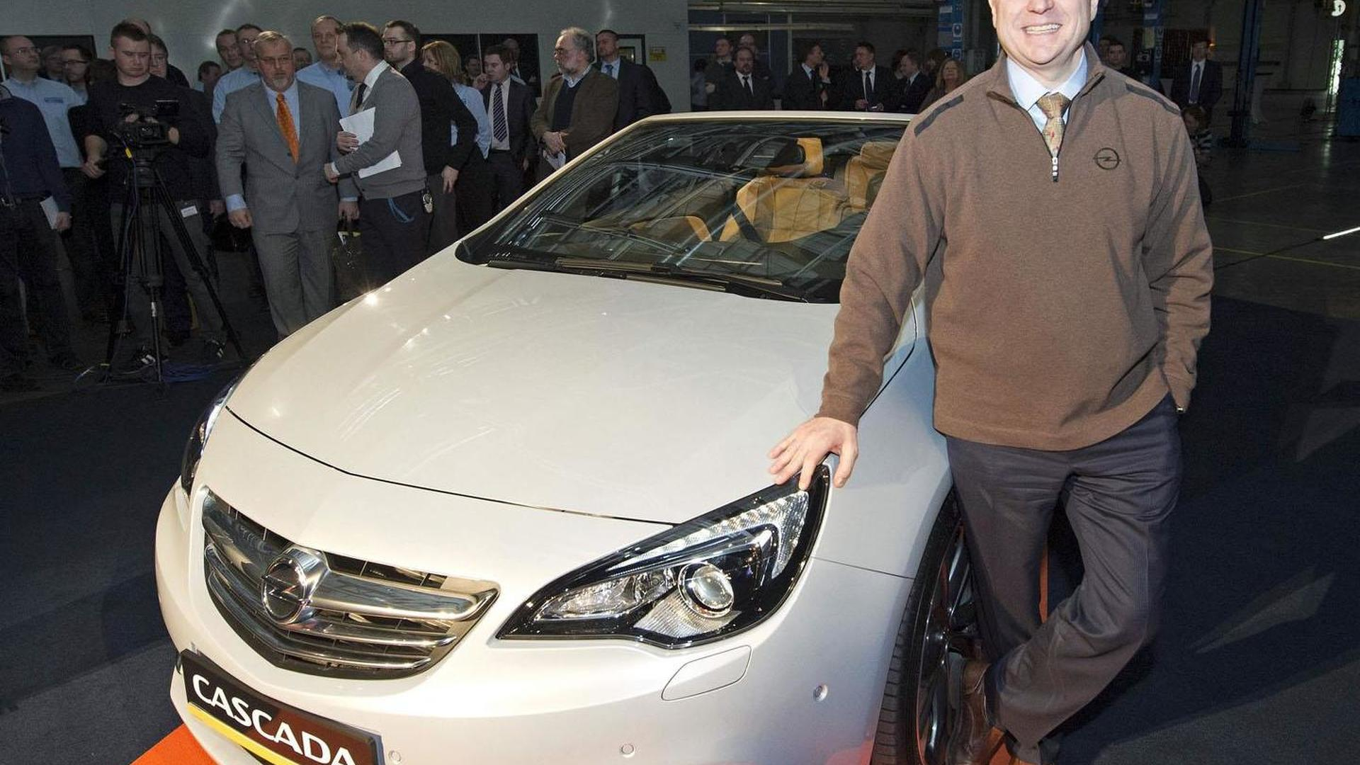 Opel Cascada enters production