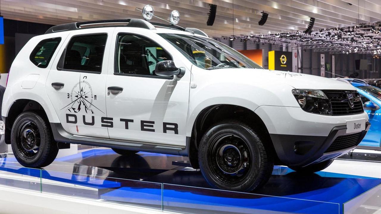 Dacia Duster Aventure Edition live in Geneva 07.3.2013
