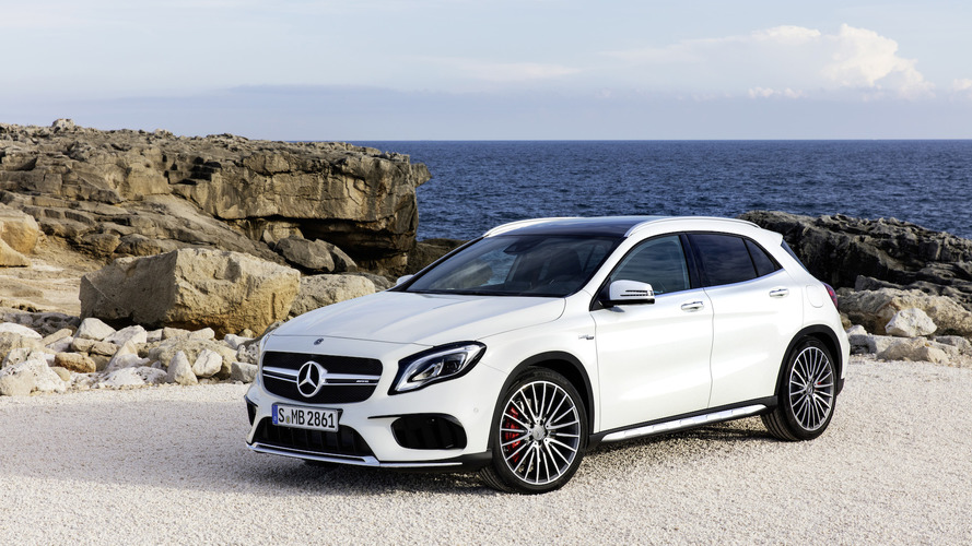 2018 Mercedes GLA Euro-spec facelift detailed in five videos