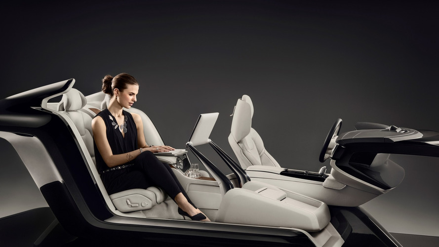 Volvo S90 Excellence gets fancy Lounge Console for Beijing