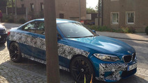 BMW M2 photographed prior to October 14 debut