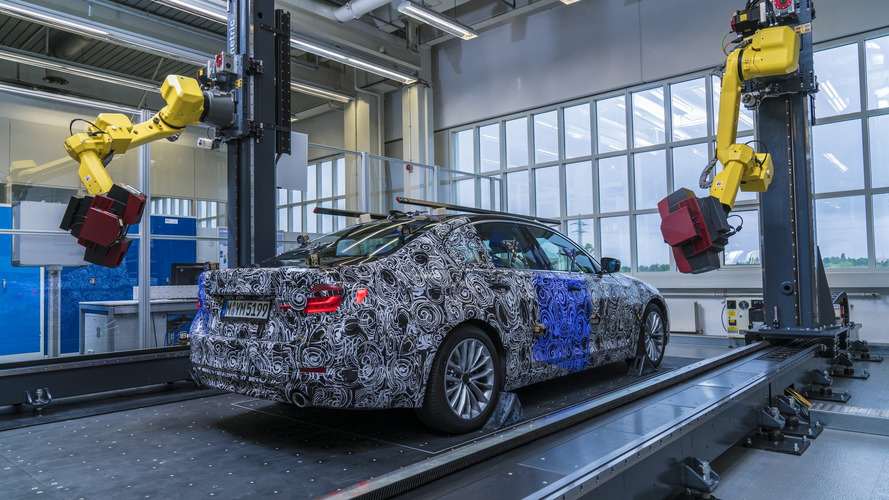 2017 BMW 5 Series prototype receives robot 3D mapping for quality