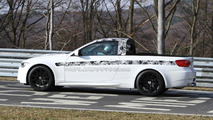 BMW M3 pickup testing at Nurburgring 15.03.2011
