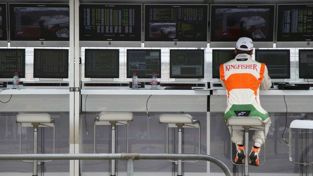 Adrian Sutil, Force India, German Grand Prix 10.07.2009