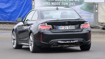 2018 BMW M2 facelift spy photo