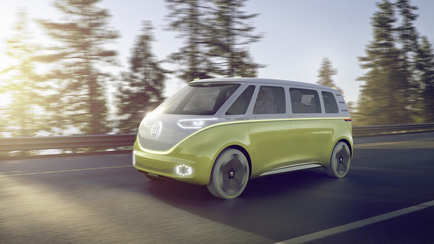 The VW Bus Is Back And Now It's Electric