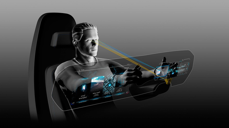 VW digital cockpit concept has a 3D instrument cluster