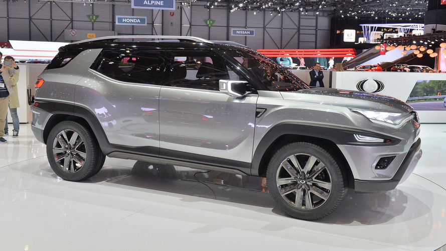 Ssangyong XAVL Concept blends MPV and crossover in chiselled package
