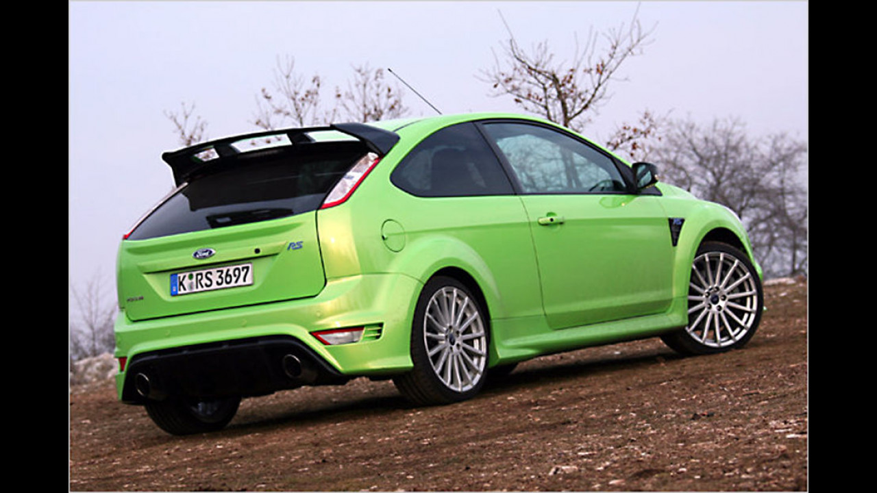 Platz 9: Ford Focus RS 2009
