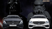 Mercedes-Benz CLA180 Star Wars Edition