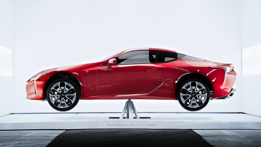 2018 Lexus LC Looks Quite Balanced In New Advert