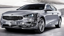 Kia new eight-speed automatic transmission for FWD cars