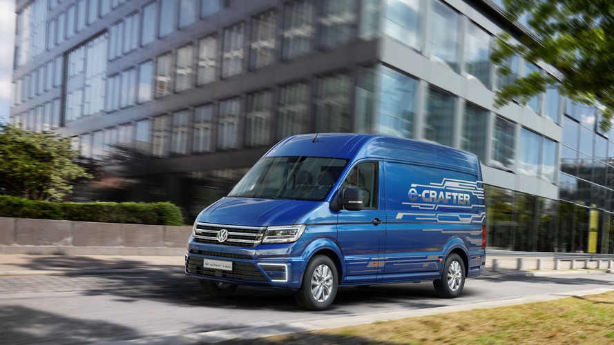 VW e-Crafter concept arrives in 2017 with 124-mile range