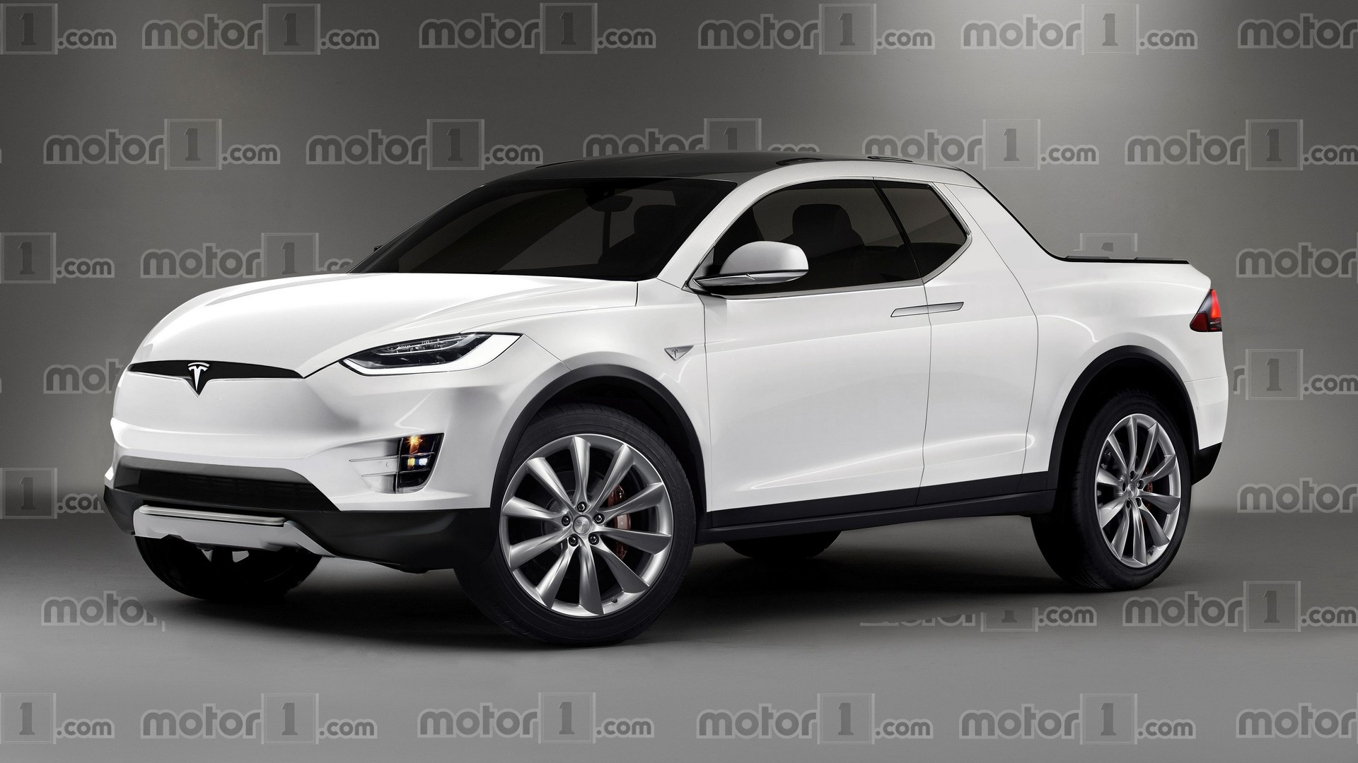 Tesla Model P Une Premi 232 Re Image Du Pick Up