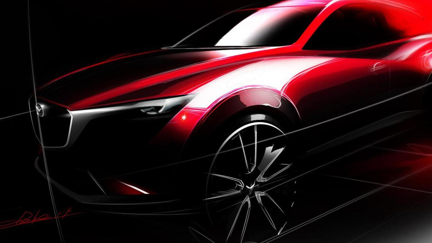 Mazda CX-3 teased for Los Angeles