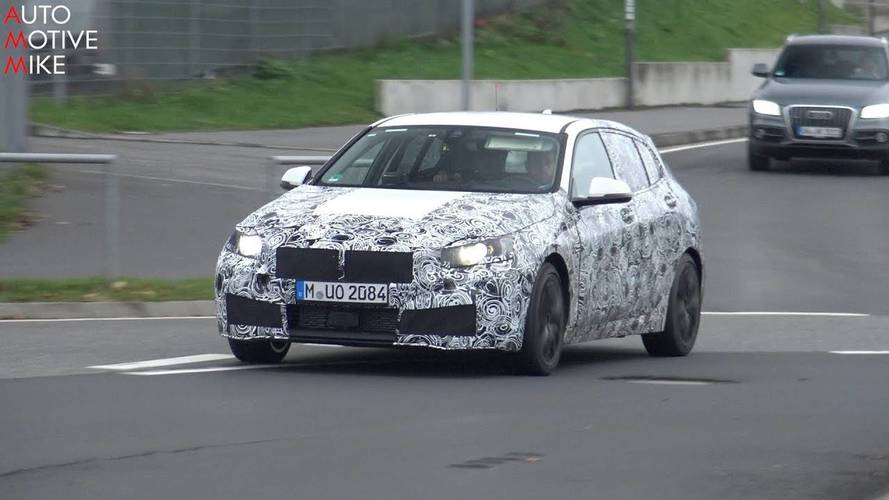 Next BMW M140i Spied Together With The Tail-Happy Current Car