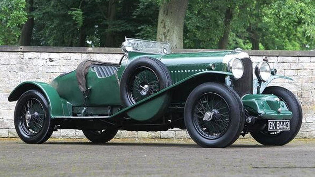 "1931 Bentley 4 ½ Litre SC ""Blower"" Sports 2/3 Seater Boattail"