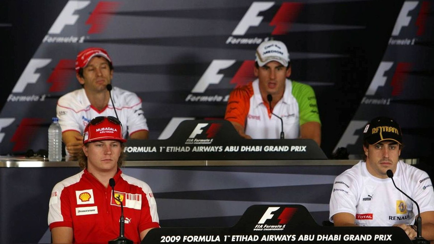 Drivers discuss hard racing of Brazil GP