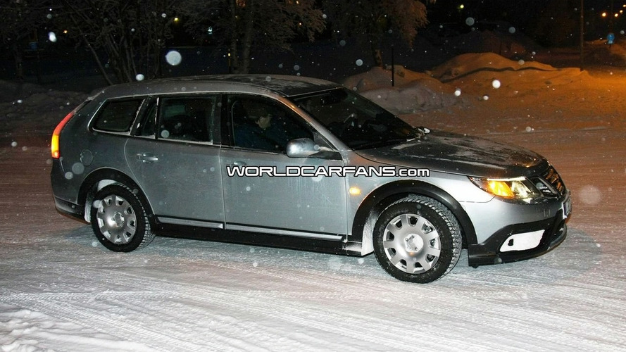 SAAB 9-3X Snapped Ahead of Geneva Debut