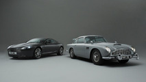 James Bond Real Film Car, 1964 Aston Martin DB5 with Quantum Silver DB9 28.10.2010