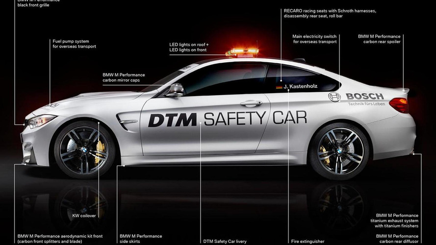 BMW M4 Coupe DTM safety car unveiled