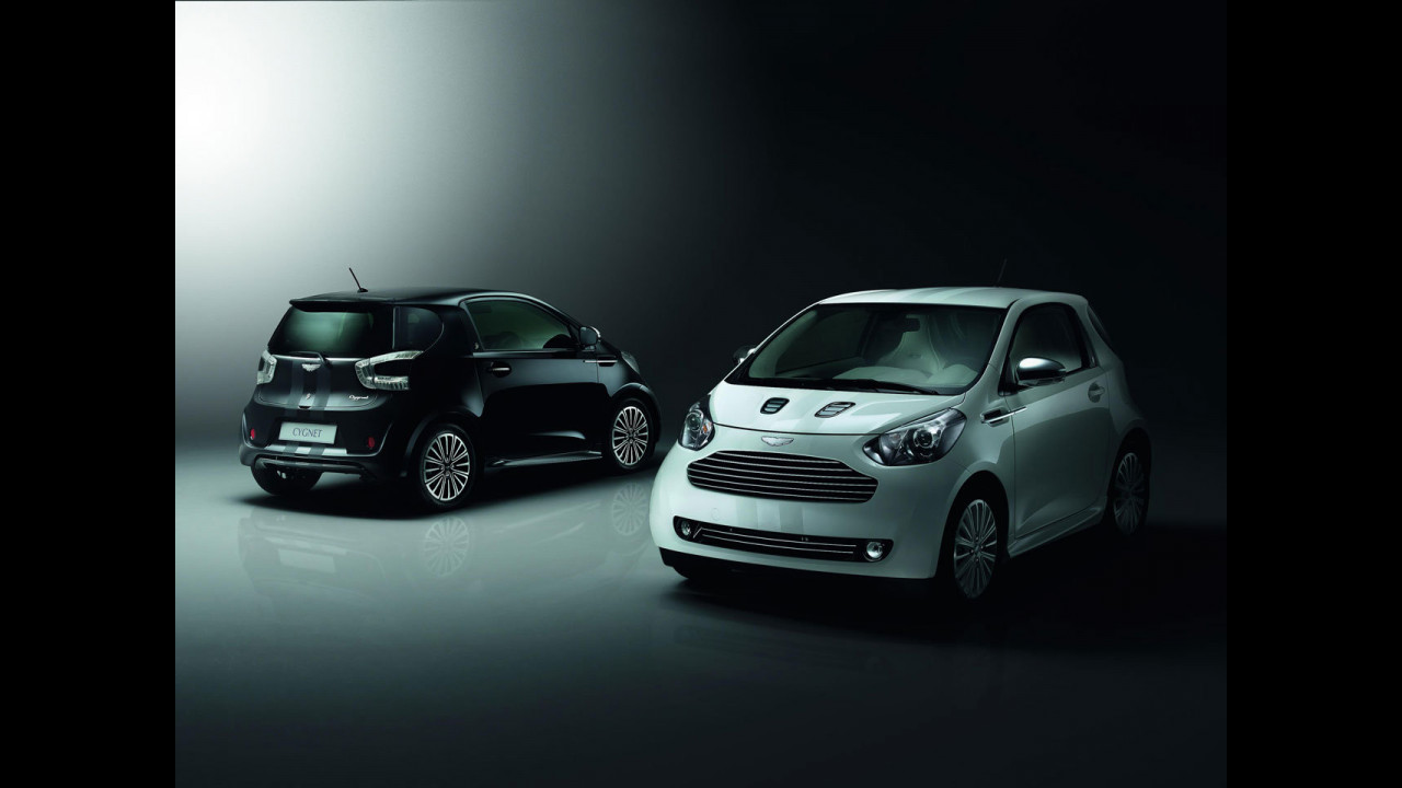 Aston Martin Cygnet Launch Editions: