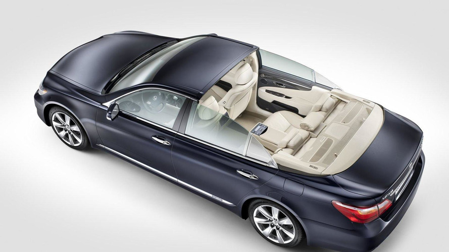 A very royal Lexus LS 600h L Landaulet revealed [video]