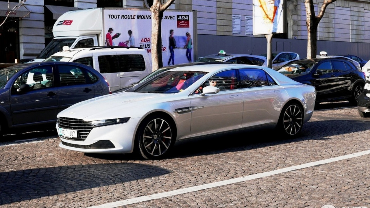 Aston Martin Lagonda in Paris