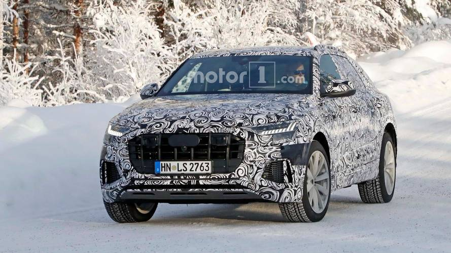 Audi SQ8  Spy Photos
