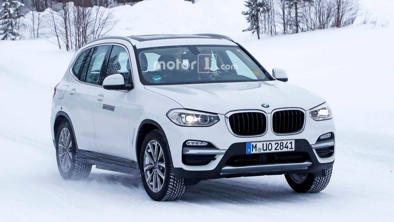 Fotos espía BMW iX3 2018