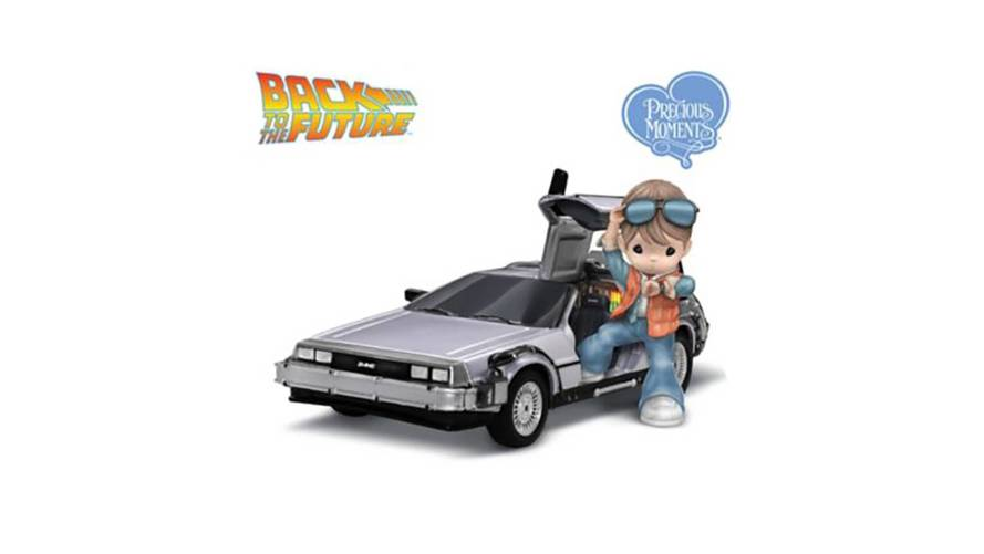 Marty McFly And DeLorean Get Their Own Precious Moments Figurine