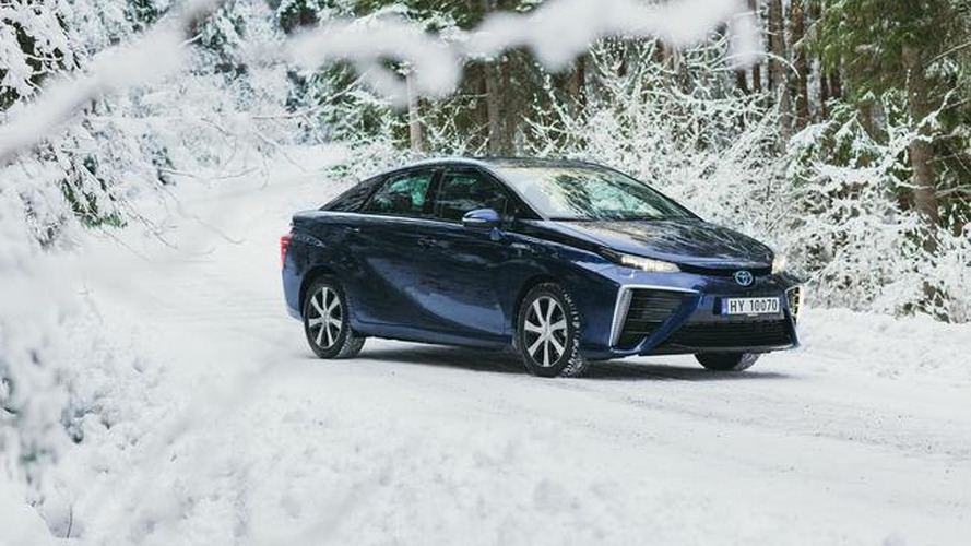 Toyota Mirai FCV to tackle cold winters in Scandinavia