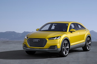 The Audi TT Offroad is a Tech Dream, but Does it Actually Look Good?