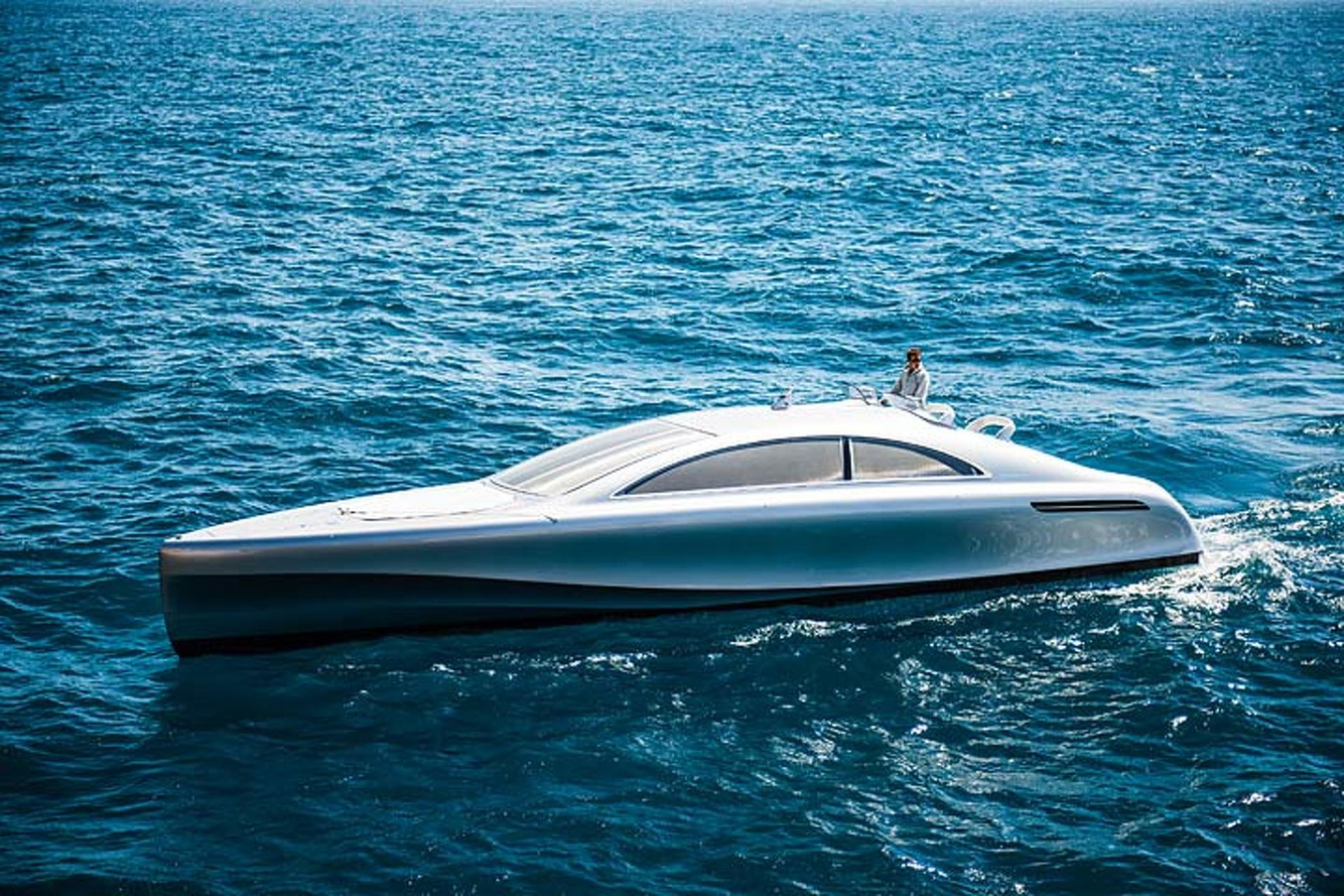 Mercedes-Benz Built a Beautiful Yacht for the 0.1 Percent
