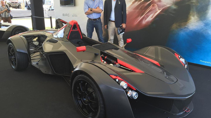 2016 BAC Mono introduced with a new engine [video]