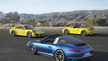 Porsche 911 Carrera 4 & Targa 4 unveiled with turbocharged engines