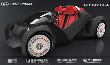 Local Motors Wants You to Mod its Next 3D Printed Car