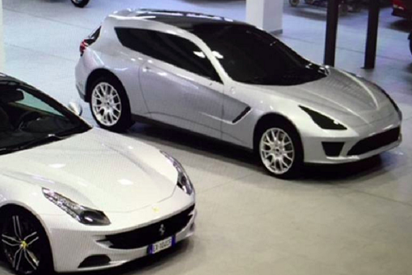 Here's a Look at the Ferrari SUV That Almost Was