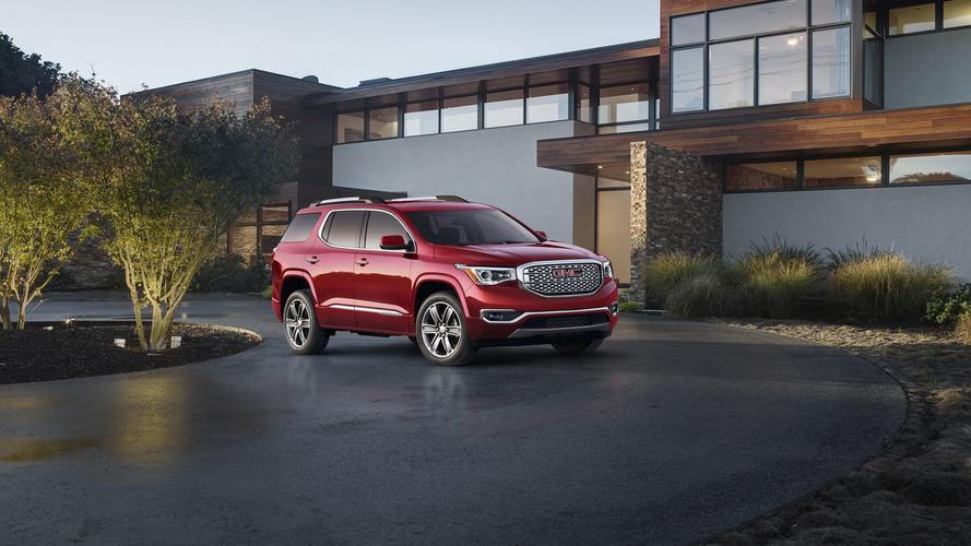 2017 GMC Acadia and Acadia Denali