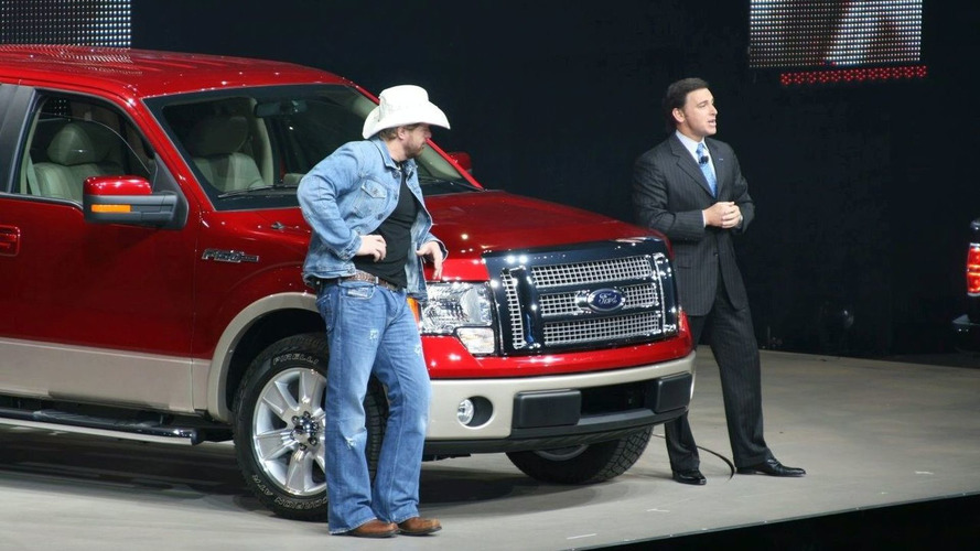 2008 NAIAS: 2009 Ford F-150 Unveiled