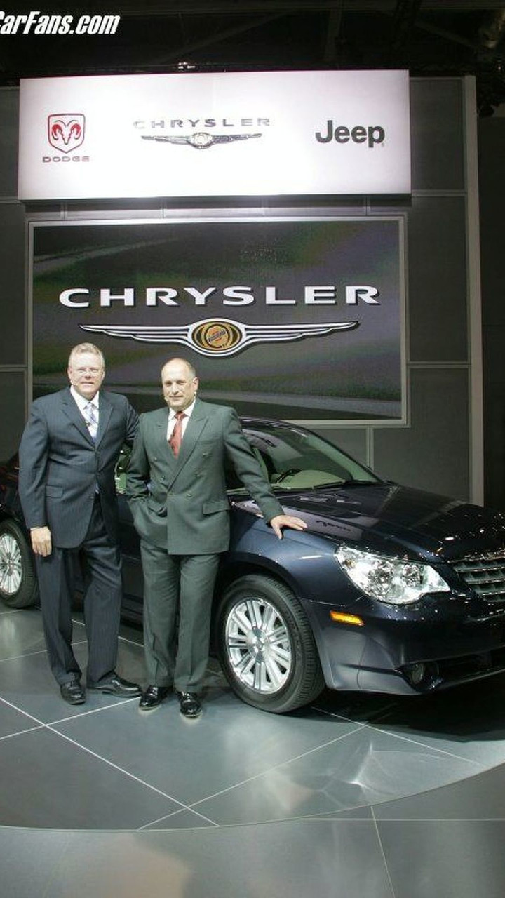 2007 Chrysler Sebring at British Int Motor Show