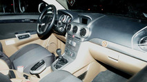Opel Antara Interior Spy Photo
