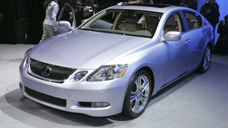 Unveiling of Lexus GS 450h at NYIAS